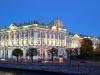 Зимний Дворец, фото ночная подсветка