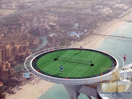 Фантастическое футбольное поле